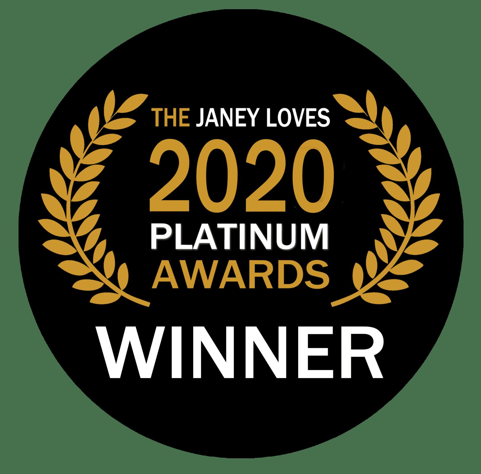 2020 WINNER badge